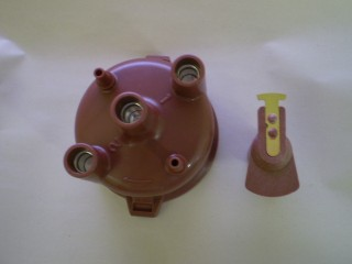Daihatsu Hijet Distributor Cap and Rotor S65