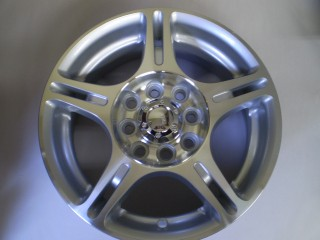 Minitruck 4 Alloy Wheels 13x5 4x100 plus Center Caps