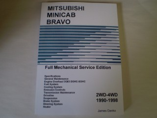 Mitsubishi Minicab English Service Manual Shop repair Manual U41 U42
