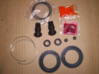 Suzuki Carry Caliper Repair kit fits Suzuki and Mitsubishi
